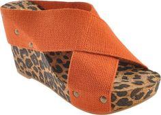 Lucky Women's Miller3 Sandal,Tangerine