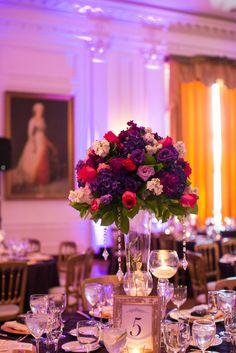 Purple & Pink florals