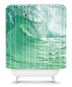 Take a look at this Within the Eye Shower Curtain on zulily today!