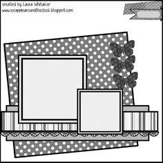 ScrapMuch?: Kit Club Sketch Challenge by Laura Whitaker