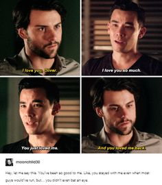 Coliver + I love you in 3x01