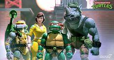 #Super7 – #TeenageMutantNinjaTurtles Ultimate Wave 3 Figures Available Now #TMNT #TurtleTuesday Wave 3, Metalhead, Michelangelo, Teenage Mutant Ninja Turtles, Tmnt, Ninja Turtles