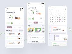 Task Management Application by Nasir Uddin Application Design, More Words, App Ui, Mobile Design, Mobile Ui, Project Management, App Design
