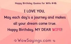 26 Images happy birthday wishes quotes for wife and best wishes massages