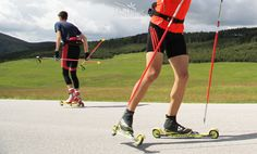 Roller skiing in summer = cross country skiing in winter Zlatibor