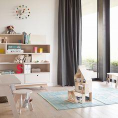 Bücherregal für Kinderzimmer Peekaboo Serie von Kutikai