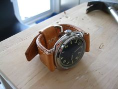 Peds & Ro Leather Blog: Tutorial: Building Watch Strap - Part 2