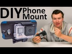 DIY GoPro Cell Phone Mount - YouTube