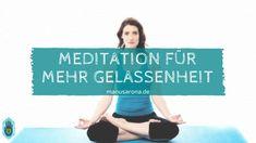 Anleitung: Pranayama Meditation für mehr Gelassenheit im Leben.  Besonders für Anfänger geeignet, da sie das Bewusstsein für den Atem öffnet.  Diese gesamte Meditation lässt dich ruhig im Herzen werden, löst Ängste und fördert Ruhe und geistige Klarheit. Die Haltung an sich erzeugt schon ein Gefühl von Gelassenheit. Sie gibt dir Klarheit über deine Gefühle in Beziehung zu dir selbst und anderen. Chakra Meditation, Atem Meditation, Daily Meditation, Pranayama, Meditation Workshop, Ayurveda, Mantra, Meditation Benefits, Yoga Inspiration