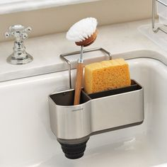 simplehuman™ Steel Sink Caddy #williamssonoma