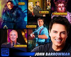 *PIN to WIN* Meet actor John Barrowman at #SLCC15! Doctor Who, Torchwood, Arrow, Zero Dark Thirty and more! #utah