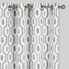 Gray Curtains for Nursery . Gray Curtains for Nursery . Gray Geo Print Jackson Grommet top Curtains Set Of 2 Green Curtains Bedroom, Curtains Living Room, Curtain Patterns, Eclectic Curtains, Grey Curtains, Nursery Curtains, Patio Door Curtains, White Curtains, Rug Pattern