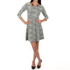 Jack by BB Dakota Women's Contemporary Summers Jacquard Dress | from Von Maur #VonMaur #StyleCorner #IvoryDress #Lace