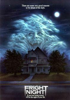 Fright Night (1985). Chris Sarandon, William Ragsdale, Amanda Bearse, Roddy McDowall. Vampires | Horror.