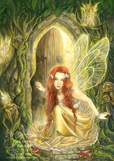 ... Fairies and elves ...: Dulce niña