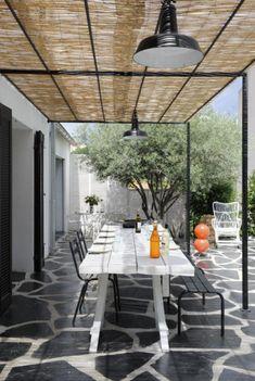 Pergola For Front Of House Outdoor Pergola, Diy Pergola, Outdoor Rooms, Outdoor Dining, Outdoor Decor, Pergola Kits, Porch And Terrace, Patio Roof, Backyard Garden Design