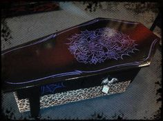 coffin furniture | Coffin Coffee Table | Spitfire Interiors – Rock n' Roll Furniture ...
