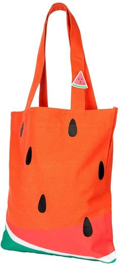 Tote Bag Watermelon by Sunnylife at Gilt Sunnylife, Lord & Taylor, Cotton Tote Bags, Watermelon, Canvas, Brain Dump, Search, Summer, Inspiration