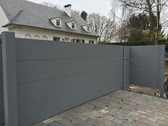 Gate House, House Doors, Garage Doors, Driveway Gate, Fence, Home Gate Design, Pivot Doors, Outdoor Spaces, Outdoor Decor