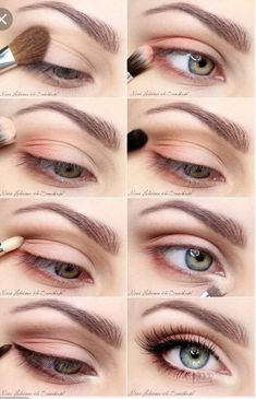 A lovely eye makeup tutorial for everyday life