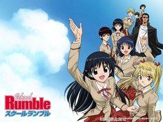 School Rumble (スクールランブル). Risas aseguradas con la vida diaria de sus protagonistas, estudiantes de un instituto, donde hay enredos amorosos y no correspondidos.