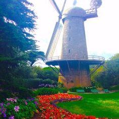 Golden Gate Park Windmills - San Francisco, CA, United States. The Windmill