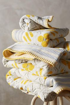 Ameera Printed Towel Set - anthropologie.com