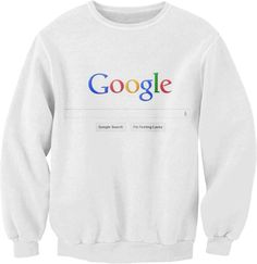 I'm going to buy this for anthony and force him to wear it because he says i know far to  often and thinks he knows everything. So i call him google. :P