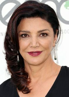 Actress Shohreh Aghdashloo arrives at Environmental Media Association Hosts Its Annual EMA Awards Presented By Toyota And Lexus at Warner Bros. Studios in Burbank, California on (October Celebrity Red Carpet, Celebrity Style, Shohreh Aghdashloo, Iranian Actors, Hollywood Red Carpet, Queen Mother, Black And White Portraits, Halle Berry, Celebs