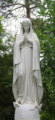 Mother Mary l would be so blessed to have this beautiful statue in my garden.