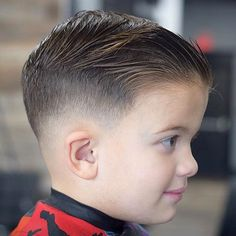 25 Cool Boys Haircuts Trends) 30 Cool Haircuts For Boys 2018 31 Cool Hairstyles for Boys Boys Fade Haircut, Boys Haircut Styles, Kids Hairstyles Boys, Baby Haircut, Comb Over Haircut, Toddler Boy Haircuts, Hairstyles Haircuts, Short Haircut, Latest Hairstyles