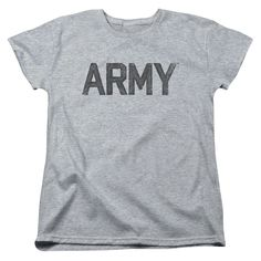 "Checkout our #LicensedGear products FREE SHIPPING + 10% OFF Coupon Code ""Official"" Army / Star-short Sleeve Women's Tee-athletic Heather-sm - Army / Star-short Sleeve Women's Tee-athletic Heather-sm - Price: $29.99. Buy now at https://officiallylicensedgear.com/army-star-short-sleeve-women-s-tee-athletic-heather-sm"