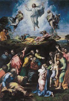 (Raphael) Raffaello Santi - Transfiguration Christi