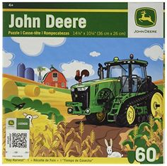 Masterpieces John Deere Hay Harvest Puzzle (60-Piece) * Find out more about the great product at the image link.