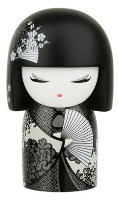 """Kimmidoll™ Shigemi - 'Spirited' - """"My spirit is feisty and enthusiastic. With your passionate nature and wholehearted enthusiasm in everything you do, you share the gifts of my spirit. May you always live boldly and joyfully brightening the world with your company."""""""