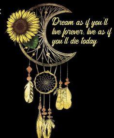 Sunflower Quotes, Sunflower Pictures, Sunflower Art, Sunflower Tattoos, Hippie Quotes, Theme Tattoo, Dream Catcher Tattoo, Sunflower Wallpaper, Hippie Art
