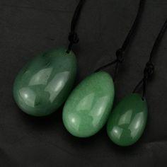 3pcs Green Aventurine Yoni Eggs