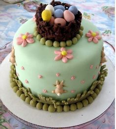 ... Cakes - Decorated on Pinterest | Easter Cake, Christmas Cakes and