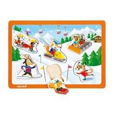 """Puzzle din lemn, cu tema """"Sporturi de iarna"""". Cu ajutorul acestui puzzle, orice copil invata jucandu-se. Puzzle Sporturi de iarna ii invata pe cei mici despre sporturile practicate iarna la munte, le dezvolta capacitatea de a gandi si este, in acelasi timp, o modalitate distractiva de petrecere a timpului liber. Thing 1, Disney Characters, Fictional Characters, Puzzle, Kids Rugs, Disney Princess, Poster, Decor, Decoration"""