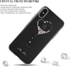 www.maggsm.ro Swarovski Crystals, Iphone, Phone Cases, Diamond, Diamonds, Phone Case