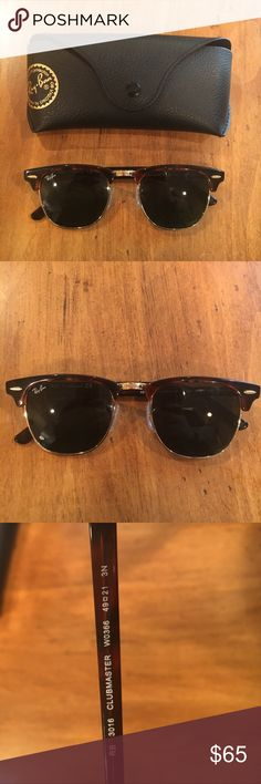 950eef9fb0d Authentic Ray Ban sunglasses Authentic Ray Ban sunglasses. Brown frame.  Excellent condition! Comes