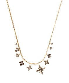 Annoushka Gold and Sapphire Frost Necklace | Accessories | Liberty.co.uk