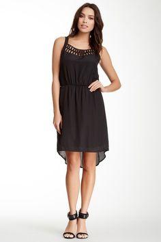 Daniel Rainn Lattice Trim Hi-Lo Dress by Assorted on @HauteLook