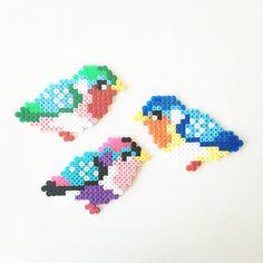Birds perler beads by perler_art