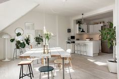 meuble design scandinave pour la cuisine, meuble scandinave pas cher
