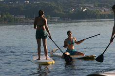 La foto de paddle surf de Rock/Creek