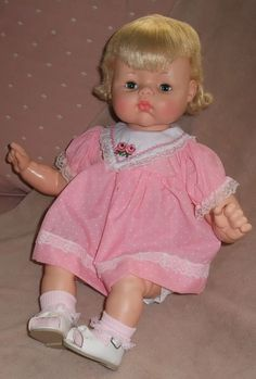 "1961 Horsman Jody Softee Baby 21"" - Little Miss Donna Sherree - #1 on my wish list!"