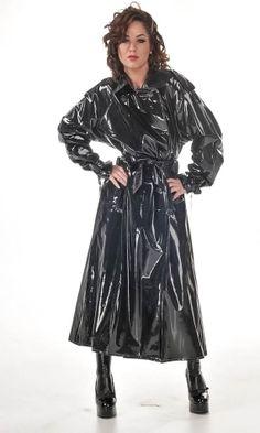 Raincoat dominatrix