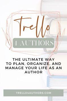 Trello for Authors