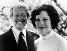 Jimmy Carter and Rosalynn Carter, Courtesy CSU Archives/Everett Collection Presidents Wives, American Presidents, Georgie, Carter Family, Jimmy Carter, Georgia On My Mind, Famous Couples, People Around The World, Human Rights